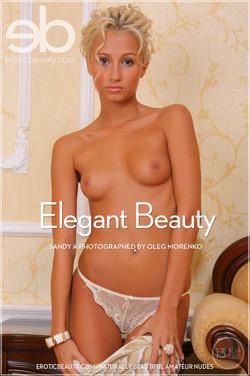 EroticBeauty - Sandy A - Elegant Beauty by Oleg Morenko
