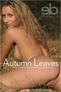 EroticBeauty - Sandy A - Autumn Leaves by Oleg Morenko