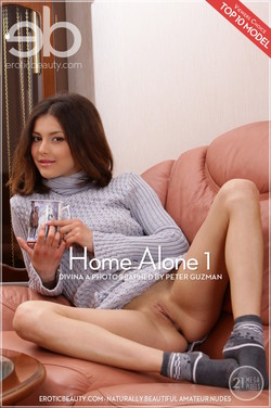 EroticBeauty - Divina A - Home Alone 1 by Peter Guzman