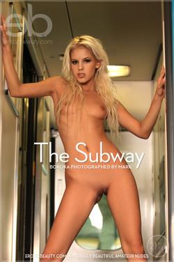 EroticBeauty - Boroka - The Subway by Mark
