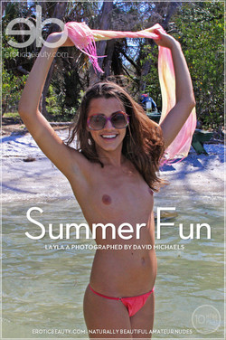 EroticBeauty - Layla A - Summer Fun by David Michaels