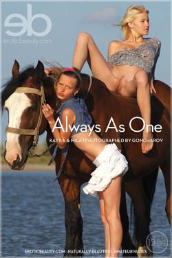 EroticBeauty - Katy A & Mila I - Always As One by Goncharov