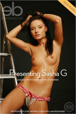 EroticBeauty - Sasha G - Presenting Sasha G by Leonardo