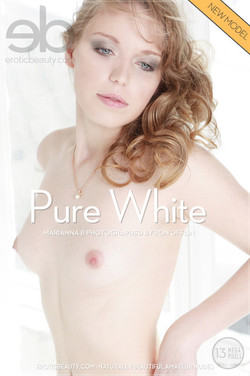 EroticBeauty - Marianna B - Pure White by Ron Offlin