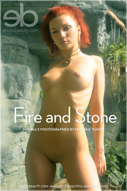 EroticBeauty - Monika E - Fire and Stone by Natasha Schon