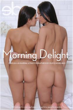 EroticBeauty - Fidelia A & Karina A - Morning Delight by Oleg Morenko