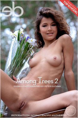 EroticBeauty - Divina A - Among Trees 2 by Peter Guzman