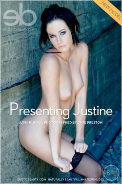 EroticBeauty - Justine Jewel - Presenting Justine by Dave Preston