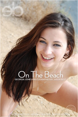 EroticBeauty - Georgia Jones - On The Beach by Jason Self