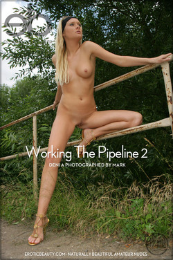 EroticBeauty - Deni A - Working The Pipeline 2 by Mark