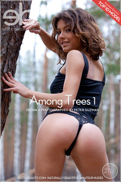 EroticBeauty - Divina A - Among Trees 1 by Peter Guzman