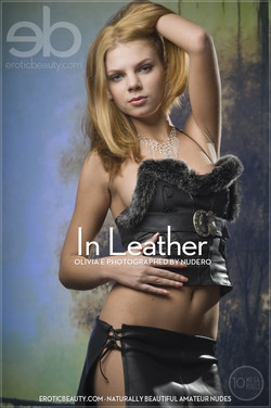 EroticBeauty - Olivia E - In Leather by Nudero