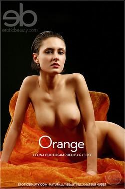EroticBeauty - Leona - Orange by Rylsky